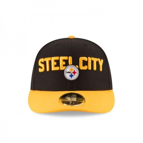 PITTSBURGH STEELERS SPOTLIGHT LOW PROFILE 59FIFTY FITTED - Sale
