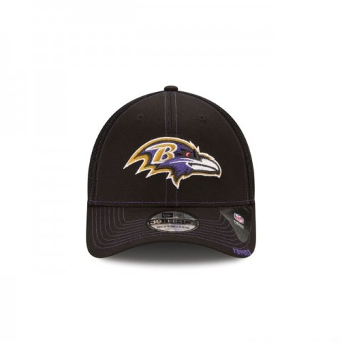 BALTIMORE RAVENS NEO 39THIRTY STRETCH FIT - Sale