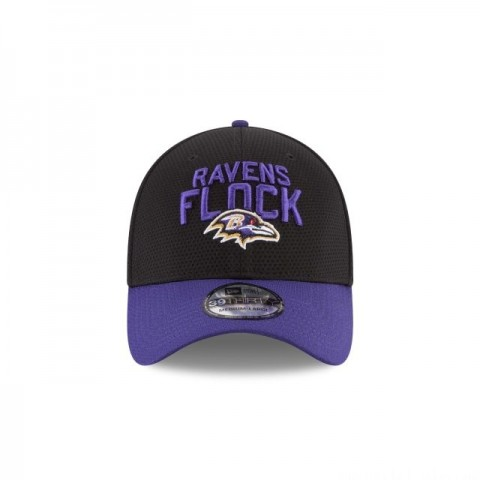 BALTIMORE RAVENS SPOTLIGHT 39THIRTY STRETCH FIT