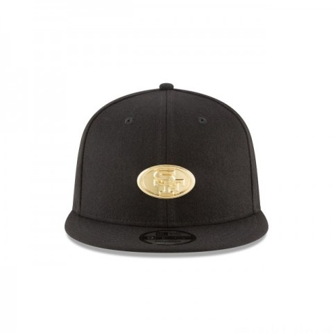 SAN FRANCISCO 49ERS BADGE SLICK 9FIFTY SNAPBACK
