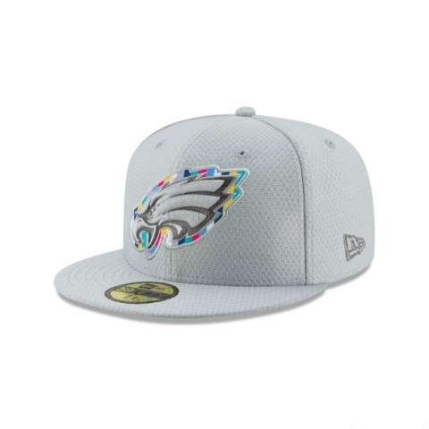 PHILADELPHIA EAGLES CRUCIAL CATCH 59FIFTY FITTED - Sale