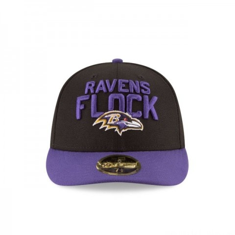 BALTIMORE RAVENS SPOTLIGHT LOW PROFILE 59FIFTY FITTED