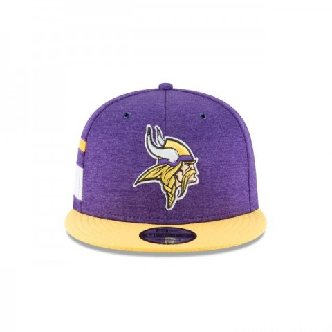 MINNESOTA VIKINGS OFFICIAL SIDELINE HOME 9FIFTY SNAPBACK