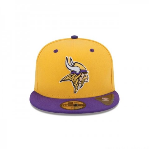 MINNESOTA VIKINGS 2TONE 59FIFTY FITTED - Sale