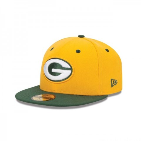 GREEN BAY PACKERS 2TONE 59FIFTY FITTED - Sale
