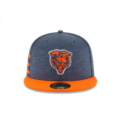 CHICAGO BEARS OFFICIAL SIDELINE HOME 59FIFTY FITTED