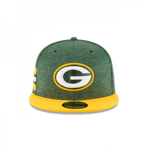 GREEN BAY PACKERS OFFICIAL SIDELINE HOME 59FIFTY FITTED - Sale