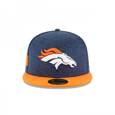 DENVER BRONCOS OFFICIAL SIDELINE HOME 59FIFTY FITTED - Sale