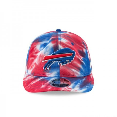 BUFFALO BILLS MARBLED RETRO CROWN 9FIFTY SNAPBACK - Sale